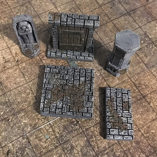 photograph regarding Printable Dungeon Tiles named 3D Printable Dungeon Tiles