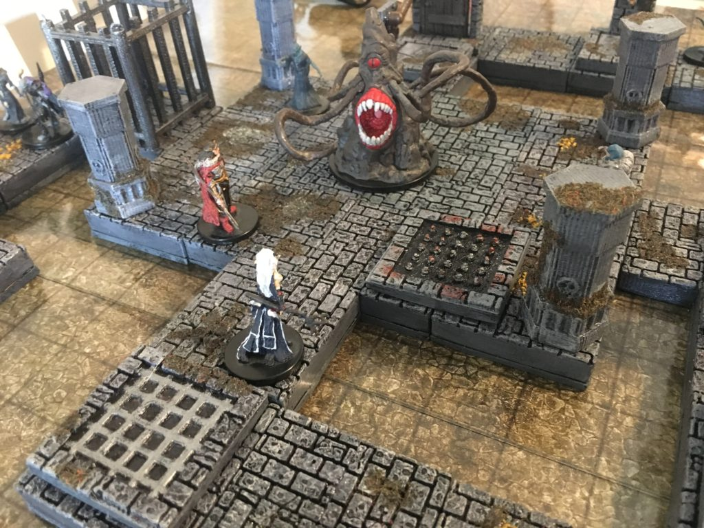 graphic relating to 3d Printable Dungeon Tiles known as 3D Printable Dungeon Tiles Terrain - EpicDungeonTiles