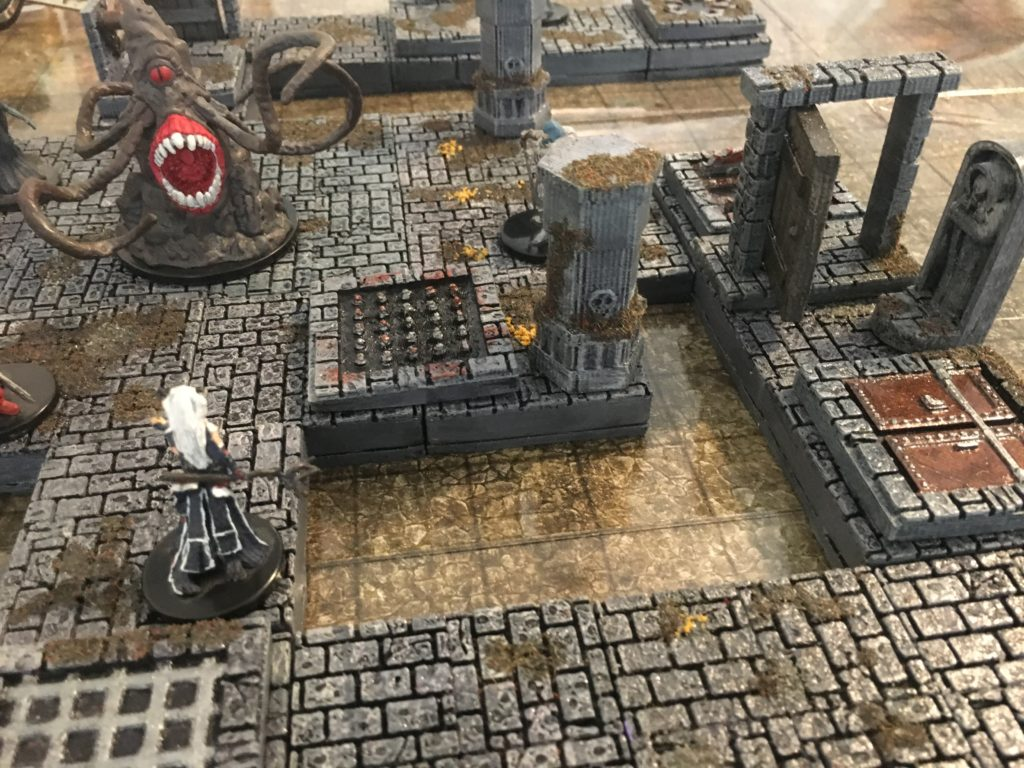 picture regarding 3d Printable Dungeon Tiles identified as 3D Printable Dungeon Tiles Terrain - EpicDungeonTiles