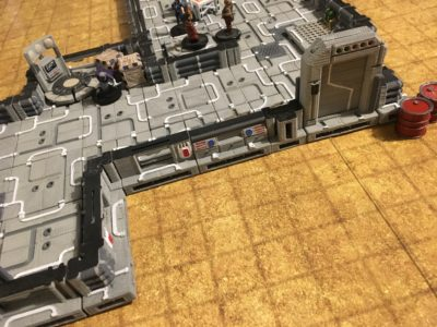 The Sci Fi Tiles with Teleporter