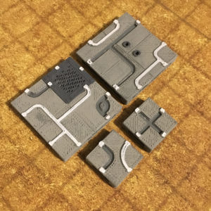 graphic about 3d Printable Dungeon Tiles known as 3D Printable Dungeon Tiles Terrain - EpicDungeonTiles